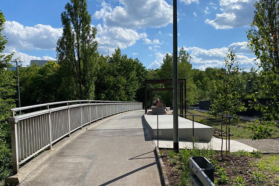 Highline Brücke Ingolstadt